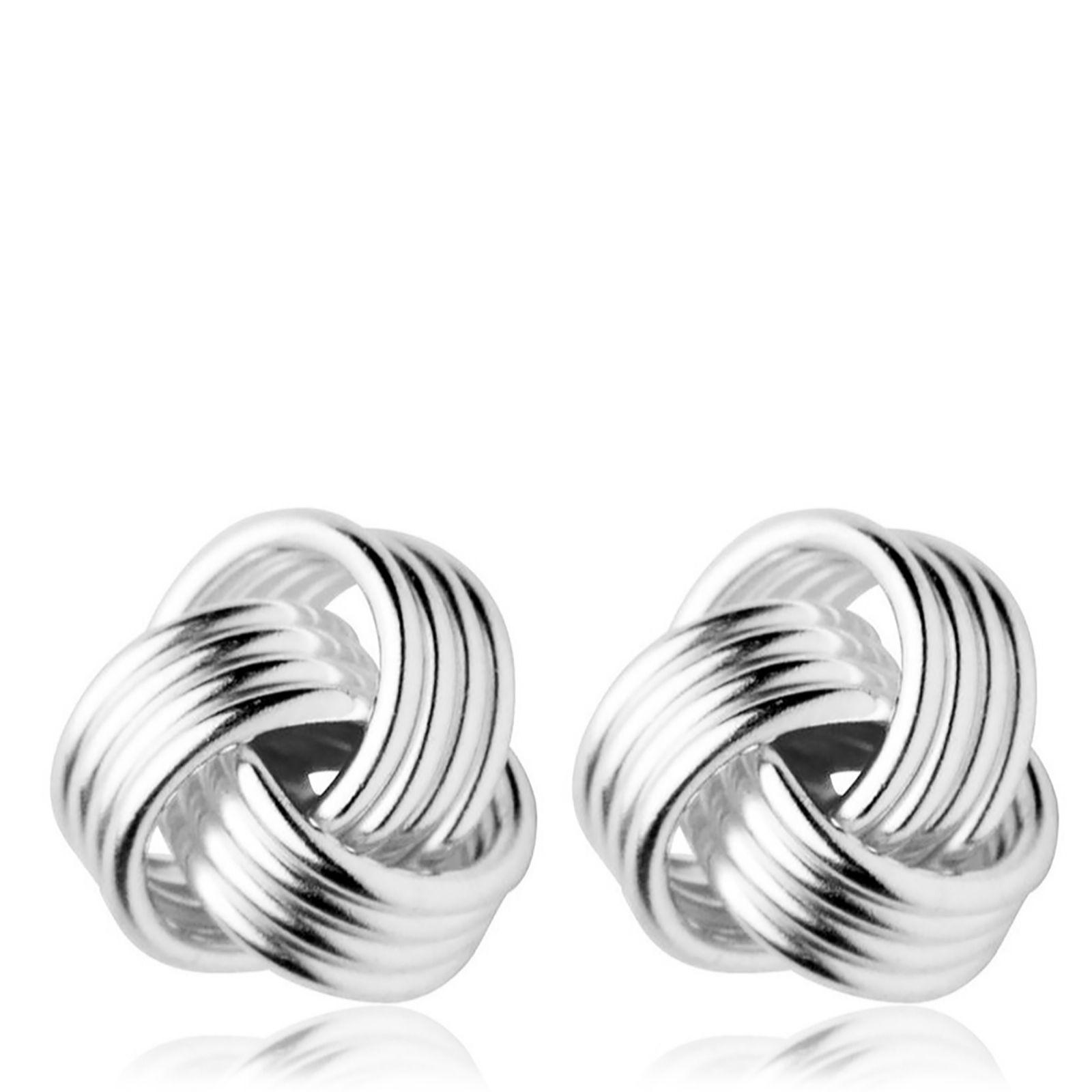Links of London Sterling Silver Knot Stud Earrings