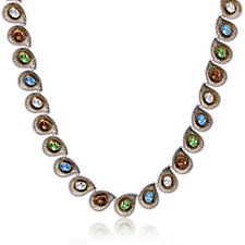 Princess Grace Collection Chip & Swirl 40cm Necklace