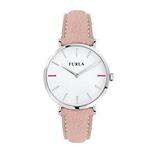 Furla Ladies Giada Leather Strap Watch