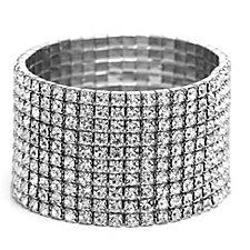 Loverocks Crystal Stretch Bracelet