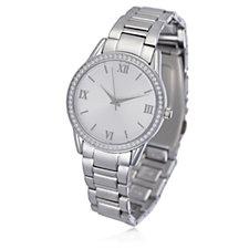 Diamonique 0.6ct tw Coloured Dial Bracelet Watch