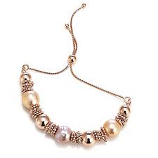 Honora 11-12mm Cultured Ming Pearl Friendship Bracelet