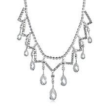 Elizabeth Taylor Simulated Diamond 47cm Necklace