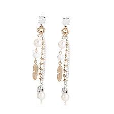 Bibi Bijoux Double Bead Drop Earrings
