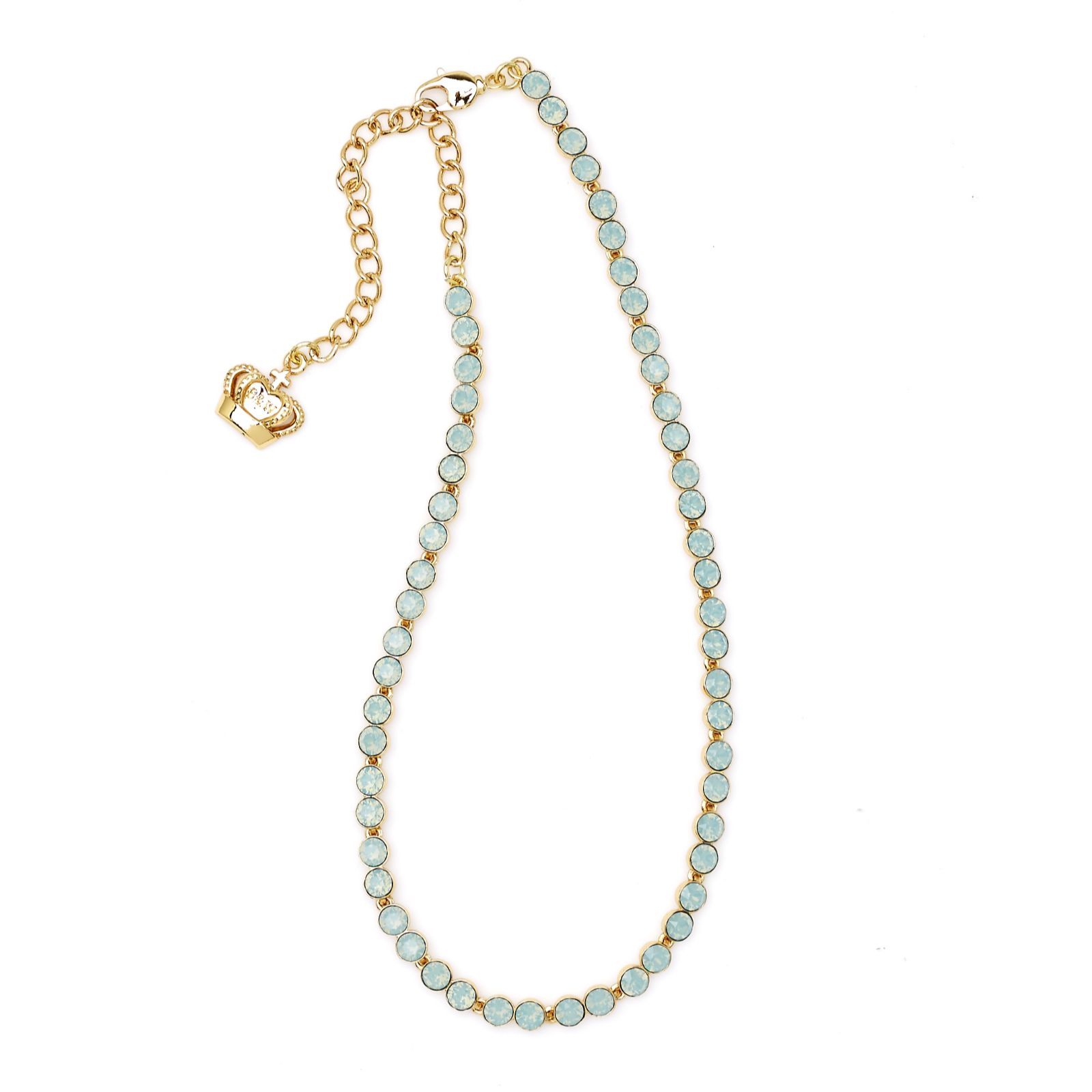 Butler & Wilson Necklace& Bracelet. Jewelry Sets Pink & Green