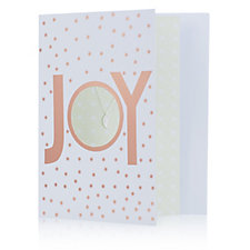 Amelia Grace Winter Greetings Card with Pendant & Chain