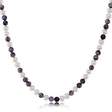 Outlet Honora 8-9mm Cultured Pearl & Gemstone