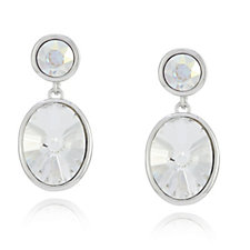 Crystal Glamour with Swarovski Crystals Drop Earrings