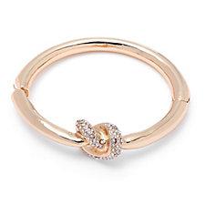 Loverocks Crystal Knot Bracelet