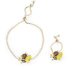 309174 - Butler & Wilson Ring & Bracelet Set