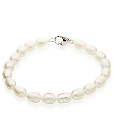 Honora Cultured Pearl 19cm Bracelet Sterling Silver