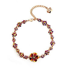 Butler & Wilson Tiny Flowers 39cm Necklace