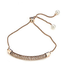 Honora Cultured Round Pearl Friendship Bracelet