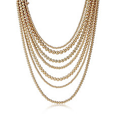 Fornash Layered Bead Necklace