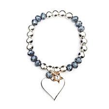 Bibi Bijoux Bead & Ball Charm Bracelet
