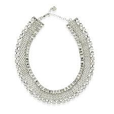 Loverocks Crystal Chain 40cm Necklace