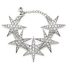 Loverocks Crystal Star Bracelet