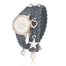 Bibi Bijoux Leather Wrap Watch