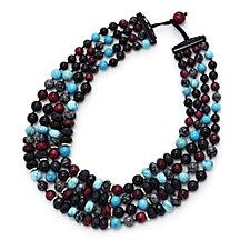 Lola Rose Demi Semi Precious 45cm Necklace