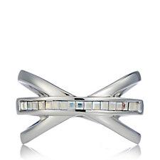 Aurora Swarovski Crystal Kiss Ring