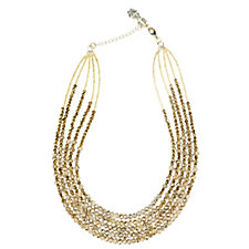 Butler & Wilson Five Strand 44cm Necklace