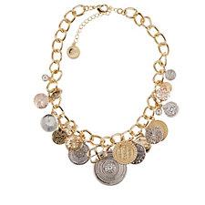 Bibi Bijoux Statement Coin 47cm Necklace