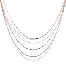 Loverocks Multi Layer Crystal 83cm Necklace