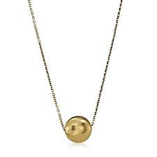 9ct Gold Aurora Bead 45cm Necklace