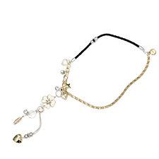 Bibi Bijoux Leather & Charm 58cm Necklace