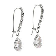 Loverocks Crystal Teardrop Earrings