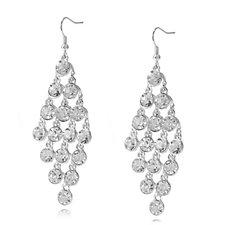 Loverocks Crystal Drop Earrings