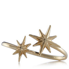 Gold Fever 9ct Gold Double 8 Pointed Star Ring