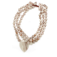 Lola Rose Daisy Semi Precious 44cm Necklace