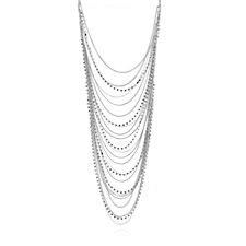 Loverocks Crystal Layer 56cm Necklace