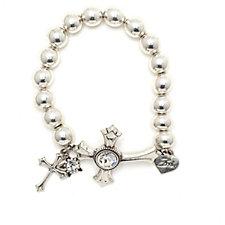 Bibi Bijoux Celtic Cross Ball Bracelet