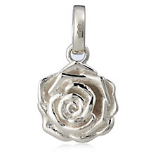 Links of London Rose Charm Sterling Silver
