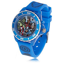 Marvel Avengers Children's Rubber Strap Light Up Watch