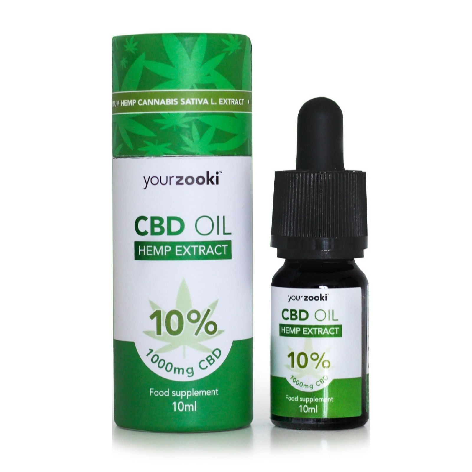 Your Zooki CBD Oil 10% - QVC UK