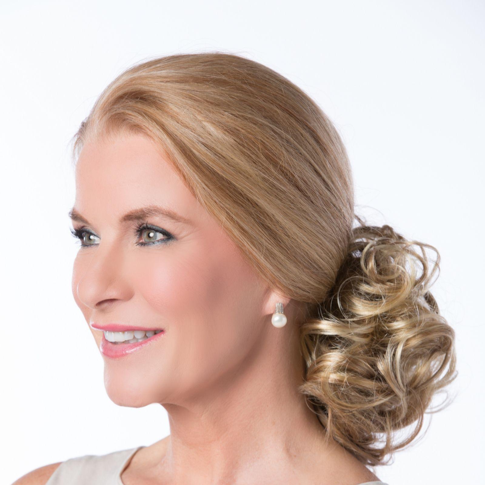 Toni Brattins Hair Fabulous Twin Clip Petite Hair Piece Qvc Uk