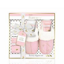 Baylis & Harding Fuzzy Duck Slipper Gift Set