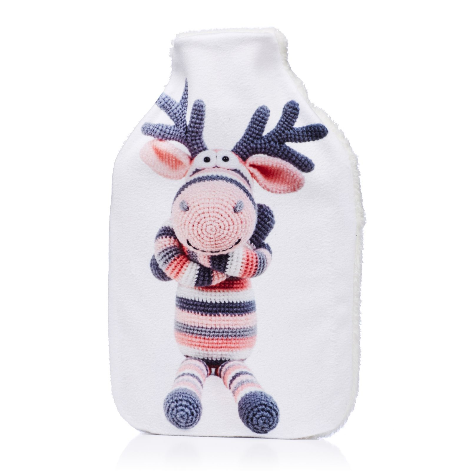 ee9f27ef595f Vagabond 2 Litre Hot Water Bottle Animal Friends - QVC UK