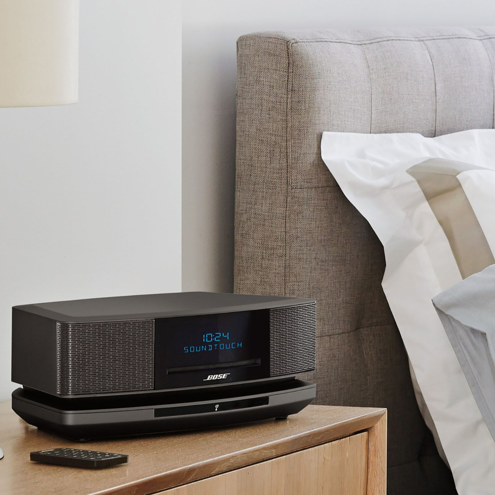 Bose SoundTouch Wave Music System IV with DAB/FM Radio, CD Player &  Bluetooth - QVC UK