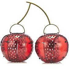 Smart Garden Cherry Glass & Metal Lantern