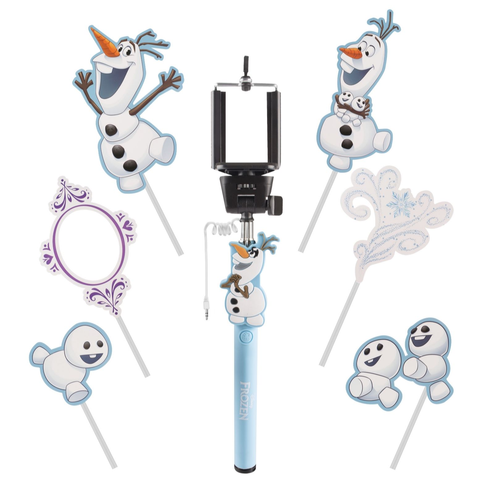 Disney Frozen Childrens Selfie Kit with Props - QVC UK