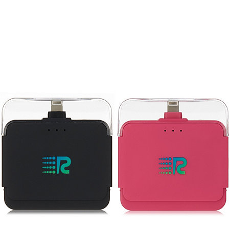 Rush Charge Set of 2 2000mAh Portable Charger