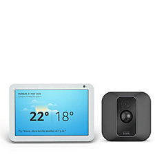 Amazon Echo Show 8 Smart Display with Blink XT2 Security Camera System