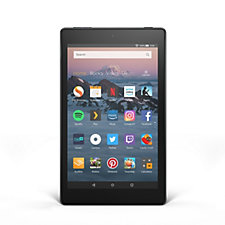 Amazon Set of 2 Fire HD8 16GB Tablets w/ 32GB SD Cards & Caseable Vouchers