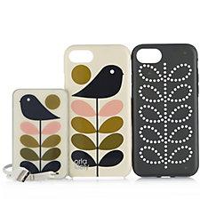 Orla Kiely iPhone 7 Case & Power Pack Bundle
