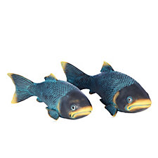 Home 2 Garden Set of 2 Resin Fish