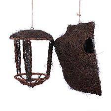 Wildlife World Simon King Open Nest Buddy & Tree Nest Pouch
